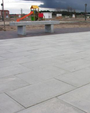 Losas de hormig n ecosit para pavimentaci n de exteriores for Losas de pared
